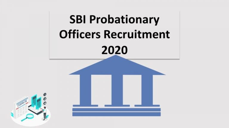 SBI Probationary Officers Recruitment-2020