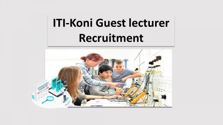 ITI-Koni Guest lecturer Recruitment
